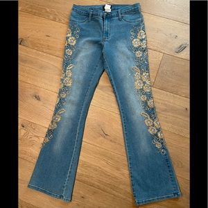 Venus Embroidered Jeans 6 x 31